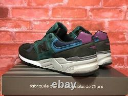 New Balance 999 Made In USA M999jtb Charcoal/green/pink Men's Size 11.5