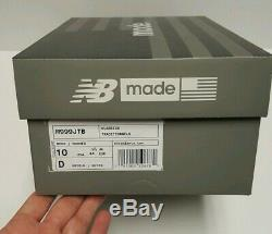 New Balance M999jtb Made In USA Lifestyle Chaussures Charcoal Noir / Vert / Rose Sz 10