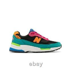 New Balance Made In USA 992 (vert/rose) Chaussures Homme M992re