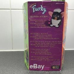 New Rare Furby 1998 Original Tiger Electronics 70-800 Rose Ventre Avec Les Yeux Verts