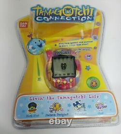 New Tamagotchi Connection V4 Bandai 19614 Rose Green Key Chain