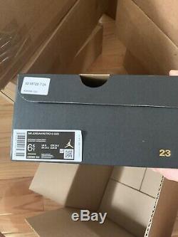 Nike Air Jordan 13 Aurora Vert Gs Taille 6.5y Blanc Soar Rose