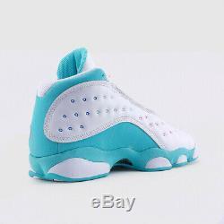 Nike Air Jordan Retro 13 Aurora Vert Blanc Soar Rose 439358-100 Gs Jeunesse