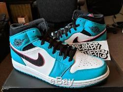 Nike Air Jordan Rétro I 1 MID Se Bleu Turquoise Hyper Beach Sud 852542-306