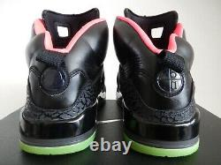 Nike Air Jordan Spizike ID Noir-chaud Rose-néon Vert Lime Sz 10,5 532513-992