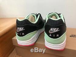 Nike Air Max 1 Fb Noir 2012 Vert Menthe Rose Taille 13