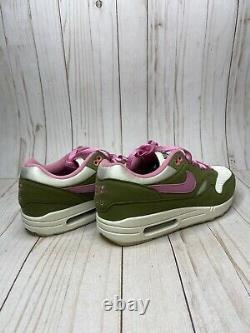 Nike Air Max 1 Par Vous ID Hommes Taille 9 Vert Rose Multicolore Cn9671-991 Rare