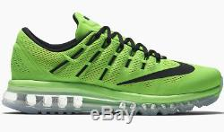 Nike Air Max 2016 Electric Vert / Rose Us 10 Flyknit 806771-300 Max 11,5 2017 LD