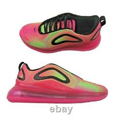 Nike Air Max 720 Taille Femme 10 Pink Blast Atomic Green Athletic Nouveau Cw2537-600