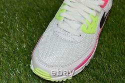 Nike Air Max 90 Pastèque Blanc Rose Blast Vert Multi Tailles Femme Ct1030-100