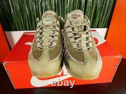 Nike Air Max 95 Chaussures Femme Vert Olive Roses Rose Aq6385-200 Taille 7,5