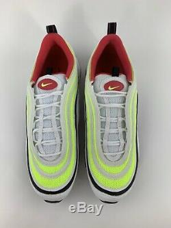 Nike Air Max 97 Volt Rose Hommes Taille 11 Chaussures Sneakers Vert Blanc Ci9871 100