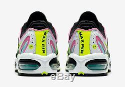 Nike Air Max Tailwind IV 4 Aurora Vert Chine Rose Blanc Rose Aq2567-103 8,5-13