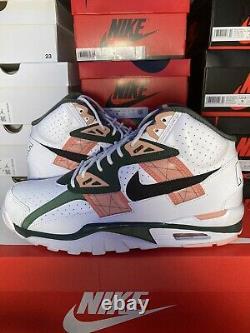 Nike Air Trainer Sc High Pink Quartz Vert Blanc Bo Jackson Marque Nouvelle Taille 10