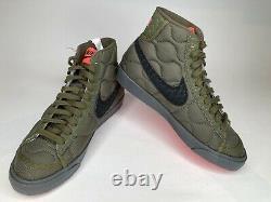 Nike Blazer MID 77 ID Vert Noir Rose Insulated Da7576 991 Femmes Taille 7.5