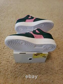 Nike By You ID Air Force 1 Pastèque Rose Vert Ct7875 994 Taille 9/ Femmes 10,5
