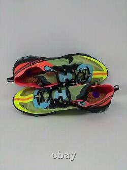 Nike Hommes React Element 87 Volt Aurora Vert Racer Rose Aq1090-700 Taille 14