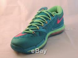 Nike Kd 6 IV Elite Turbo Vert / Rose Super-héros 11 Us 642838 300 Nouveau