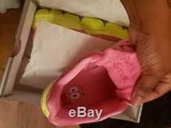 Nike Kyrie 5 Étoiles Patrick Taille 11 Spongebob Squarepants Rose Et Vert