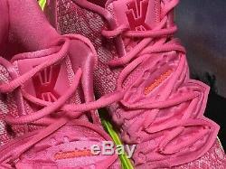 Nike Kyrie 5 Sz 8. Rose / Vert Spongebob Basketball Chaussures De Sport Cj6951-600