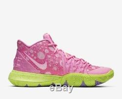 Nike Kyrie Irving 5 Patrick Lotus Rose Vert Spongebob Squarepant Hommes Et Enfants Taille