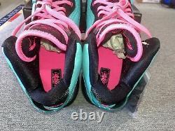 Nike Lebron 8 Sud Beach 2021 Retro Filament Green Rose Sz 11.5 Cz0328 400