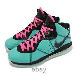 Nike Lebron VIII 8 James South Beach Pink Flash Filament Vert Hommes Cz0328-400