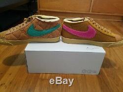 Nike Par Vous Cpfm Éponge Blazer 8 Nikeid (rose Et Vert Swoosh Swoosh) Vapormax