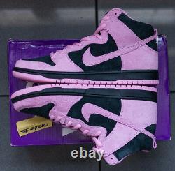 Nike Sb Dunk High Pro Prm Invert Celtics Black/pink/green Ds Taille 11.5