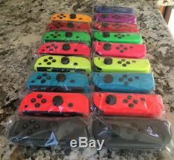 Nintendo Commutateur Joy Con Bleu Vert Jaune Rouge Rose Gris Odyssey Violet Orange