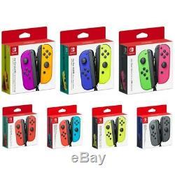 Nintendo Joy-con (l / R) Contrôleur Sans Fil Pour Commutateur