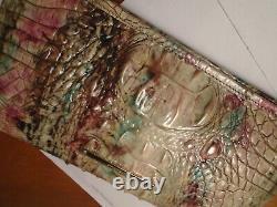 Nouveau Brahmin Kayla Amethyst Pink Green Purple Clutch Wallet Wallet Wristlet Nwt B