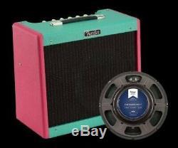 Nouveau Fender Fsr Blues Junior IV Combo Amplifier Two Tone Hot Pink Écume Vert