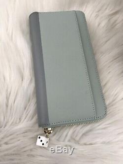 Nouveau Kate Spade Voiture Rose Lacey En Cuir Portefeuille Vert Clair Article De Collection Ht Cadeau