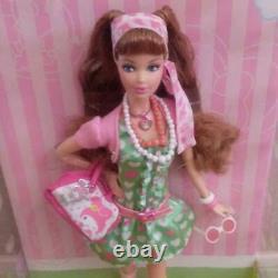Nouveau Mon Mélodie X Barbie Collaboration Sanrio Barbie Poupée Vert X Rose Vintage Jp