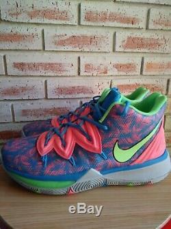 Nouveau Nike Kyrie 5 Hyper Limitée Neon Vert Rose Bleu Gris Bas Sole 11 Hommes