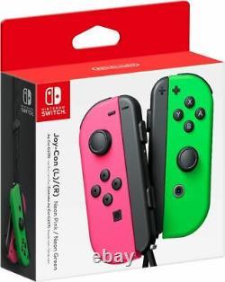 Nouveau Nintendo Switch Joy Con Wireless Controller Official Joycon Pink Green