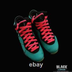 Nouveau Rare Nike Lebron 8 South Beach Pink Flash Filament Vert Taille 8 Pâques