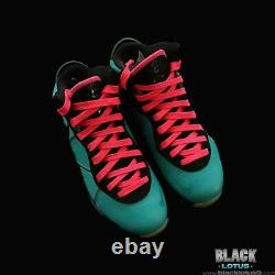 Nouveau Rare Nike Lebron 8 South Beach Pink Flash Filament Vert Taille 8 Valentines
