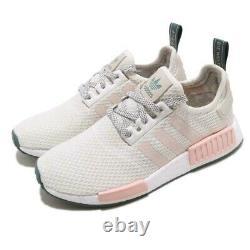 Nouveaux Adidas Originals Nmd R1 W D97232 Icey Rose Taille 6 Femmes Blanc/ Rose Vert