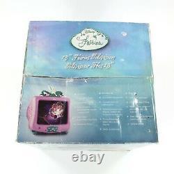 Nouvelles Fées Rares Disney 13 Tube Television Tinker Bell Friends Green Pink 2007