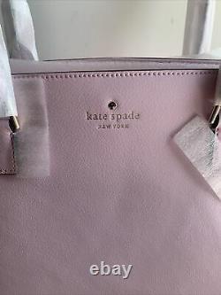 Nwt Kate Spade Greene Street Serendipity Pink Mariella Sac Sac Sacoche En Cuir