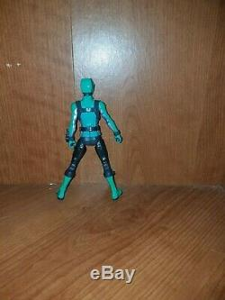 Power Rangers Doubtsu Sentai Go-busters Vert Noir Rose (6 Custom) Action Figure
