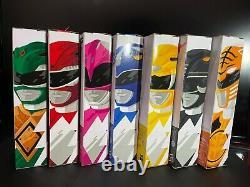 Power Rangers Lightning Collection Mighty Morphin Rose Rouge Vert Noir Jaune