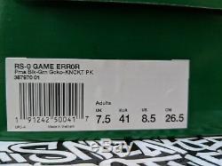 Puma X Sega Rs-0 Erreur De Jeu Noir Vert Gecko Knockout Rose Pourpre 367970-01