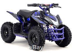 Quad Titan V5 Mototec 24v Mini Mt-atv5 Vert, Bleu, Rose Ou Blanc