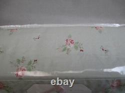 Rachel Ashwell Simplement Shabby Chic Rose Rose Rose Floral Sheet Set King