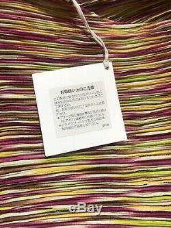 Rare Vtg Issey Miyake Rose Et Vert Jupe Plissée Set S