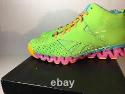 Reebok John Wall Saison 2 Zigencore Fresh Prince Vert/pink J89763 Taille De Choose