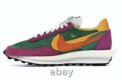 Sacai X Nike LD Pine Rose Vert Taille Homme 10.5